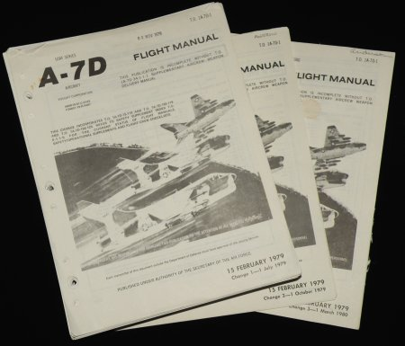 A-7D Flight manual T.O. 1A-7D-1