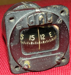 US Airpath liquid magnetic aircraft pilot's standby compass