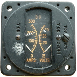 BI combined DC Volts and Amps indicator