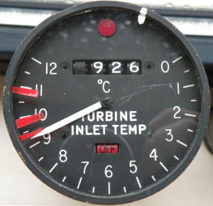 Turbine Inlet Temperature (TIT) indicator
