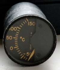 The Lewis Eng. Co. USAF F-104 Temperature indicator