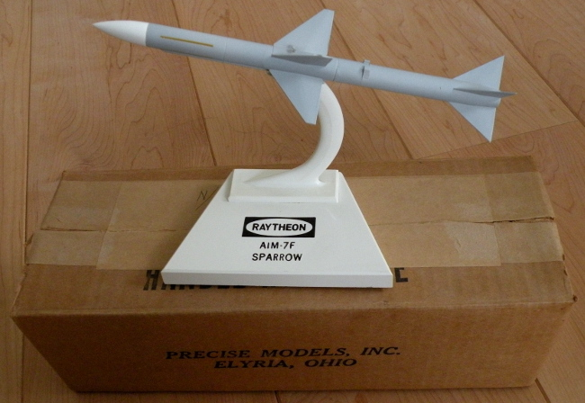 Precise Models Raytheon AIM-7F Sparrow missile model