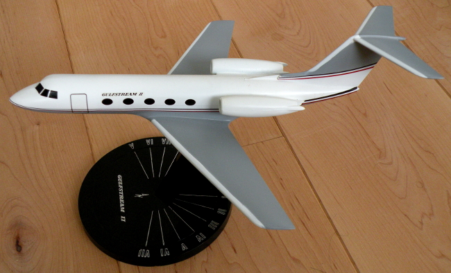 Vintage Precise Models Inc. Grumman Gulfstream II business jet model