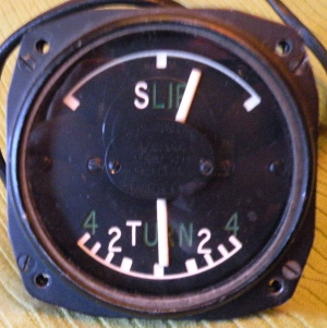 R.B. Pullin and Co. Ltd. Type R/T.24.S.F. turn and slip indicator