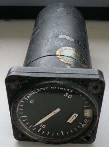 Military angle of attack indicator, US Navy