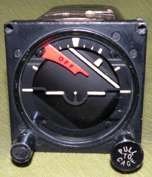Sperry Gyroscope Company Gyro Horizon Indicator type H-6B