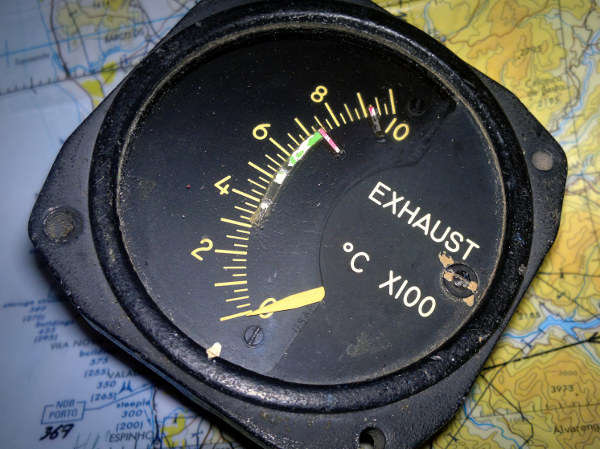 T-33 / F-84 Exhaust Gas Temperature indicator