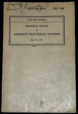 TM 1-406 Aircraft electrical systems manual