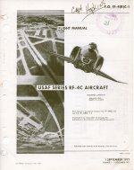RF-4C T.O. 1F-4(R)C-1 flight manual
