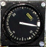 Angle of attack gauge