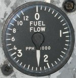 Fuel flow indicator
