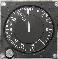 Mach/airspeed indicator