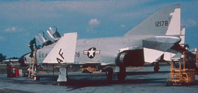 F-4B/N 150652, on loan to USAF 1962