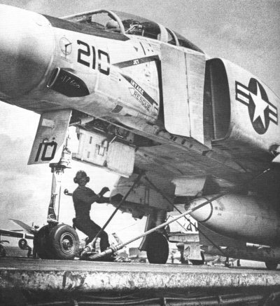 F-4B ready for take off