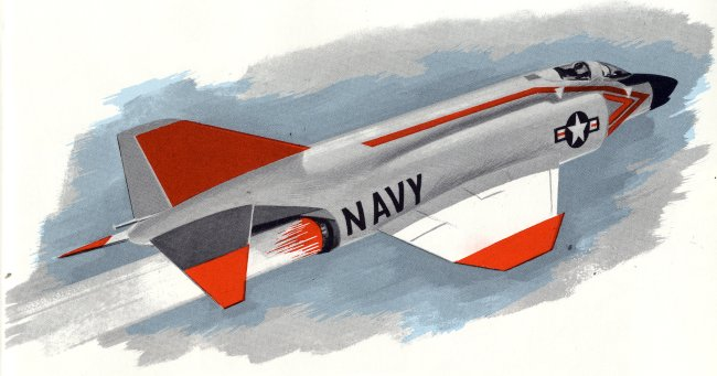 Navy F-4B drawing