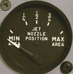 Early nozzle position indicator