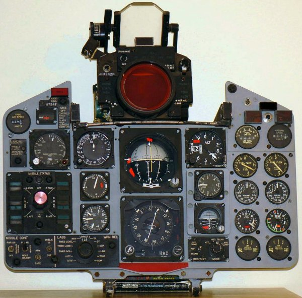 Andy's F-4D panel