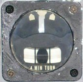 ARU-3A turn and slip indicator