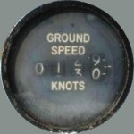 Bendix ground speed indicator