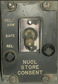 Nuclear store consent switch panel