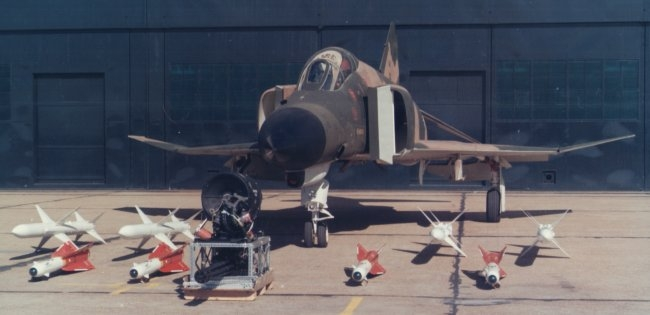 F-4E weapons display