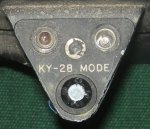 RF-4C KY-28 Mode indicator lights