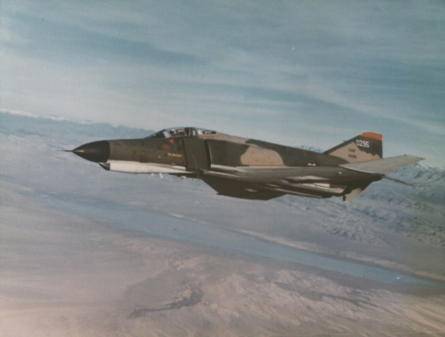 F-4E in flight