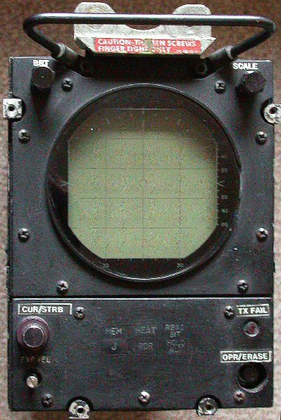 Radar operator indicator unit IP-825/AGP-61