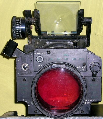 AN/APG-59 radar scope optical sight