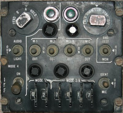 C-6280A(P)/APX IFF control panel