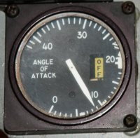 F-4S Angle of Attack indicator
