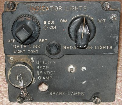 F-4S Utility Electrical Receptacle panel