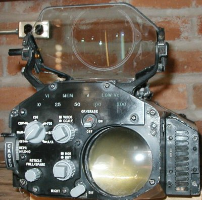 F-4S radar scope - servoed optical sight