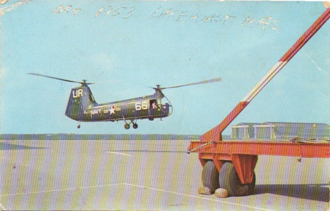 HUP-2 at Lakehurst postcard