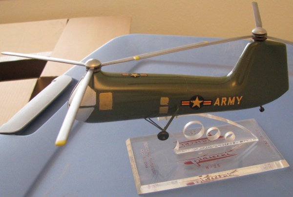 Piasecki UH-25 Army mule model made by Topping, Inc.