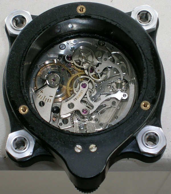 Leonidas aircraft chronometer clock movement