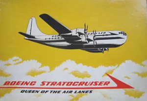 Boeing Stratocruiser model kit (scale 1/144)