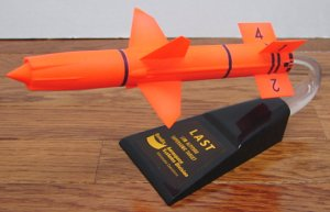 Bendix Aerospace System Division Low Altitude Supersonic Target missile