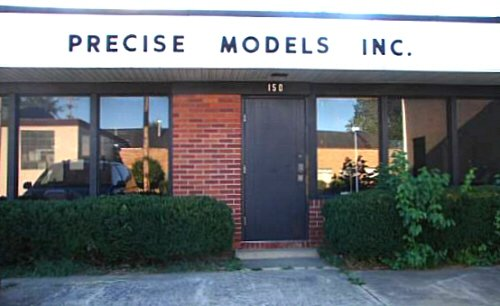 Precise Models Inc. office