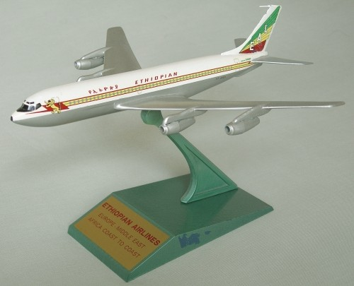 Ethiopian Boeing 707, made by Raise-Up Metalworks