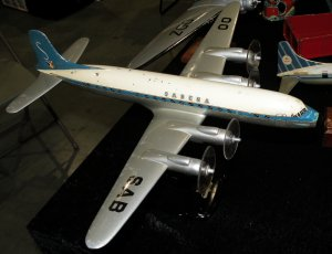 Raise Up Sabena DC-7 model