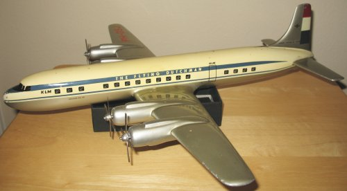 KLM Flying Dutchman DC-7C, made by Raise-Up Metalworks