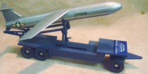 USAF TM-76 Martin Mace missile and carrier