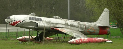 T-33 near Affligem, Belgium, April 2006