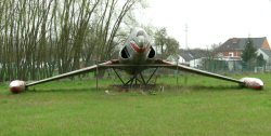 T-33 front view, Affligem, April 2006.