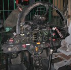 T-33A cockpit, Mexican Air Force