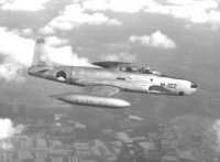 Dutch T-33 in flight