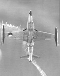 T-33 seen from below