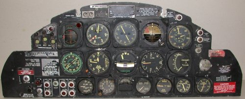 T-33 front panel
